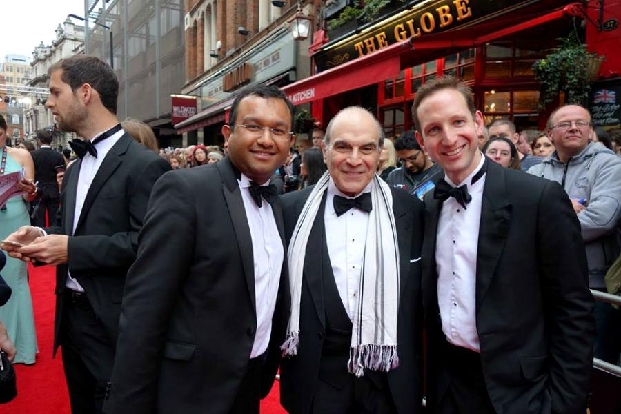 David Suchet Olivier Awards 2016