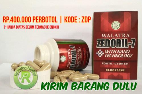 Manfaat Zedoril 7 Bersih Kanker