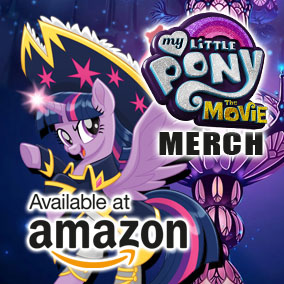 MLP The Movie Merch on Amazon