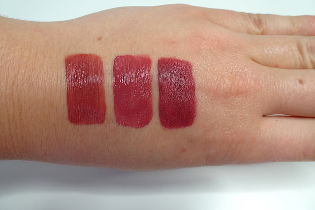 the balm meet matt(e) hughes charming, zoeva pure velour lips all is calm, sephora cream lip stain 24 burnt sienna