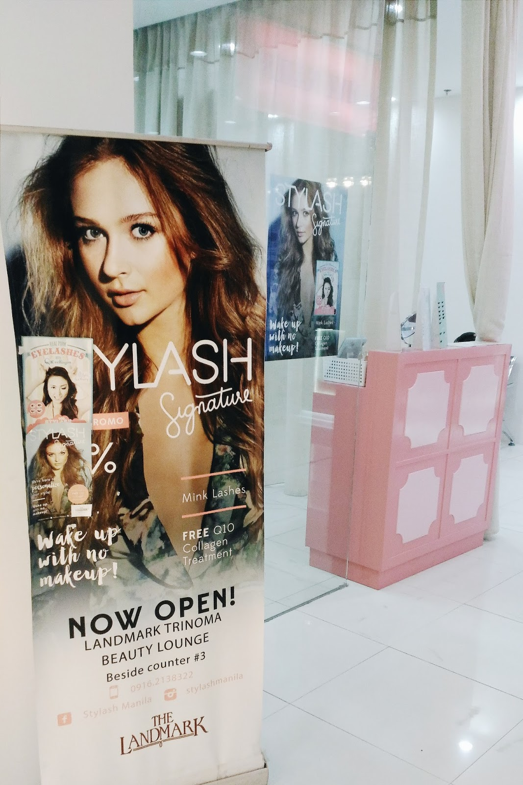 4508488f57e Stylash Landmark Trinoma is hard to find! If I didn't ask the guard where  it was, I would have roamed endlessly. It's located at the Beauty Lounge.