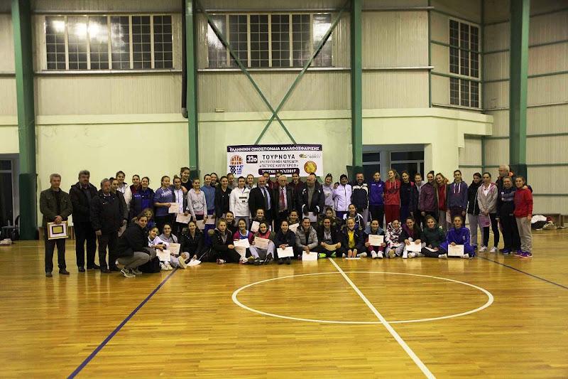 Ολοκληρώθηκε το 32ο τουρνουά Χριστουγέννων κορασίδων Π. Καπαγέρωφ της ΕΟΚ
