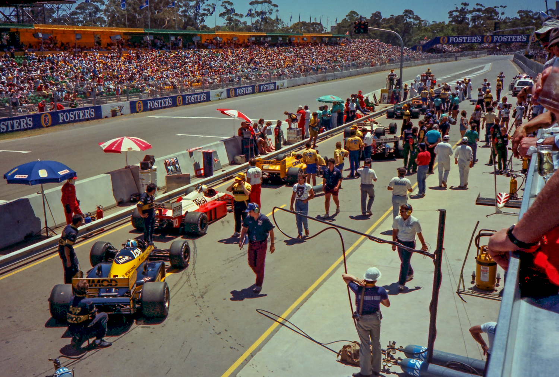 Australian Grand Prix Adelaide 1985