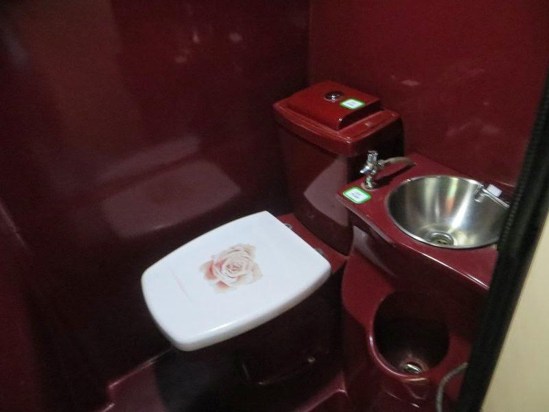Туалет в автобусе