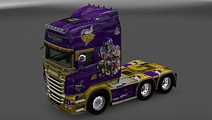 Scania RJL Minnesota Vikings skin