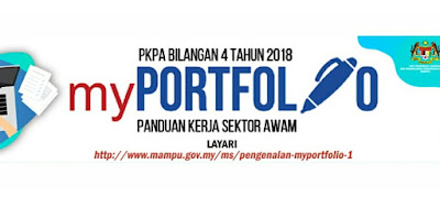 Contoh Templat myPortfolio Untuk Sektor Awam