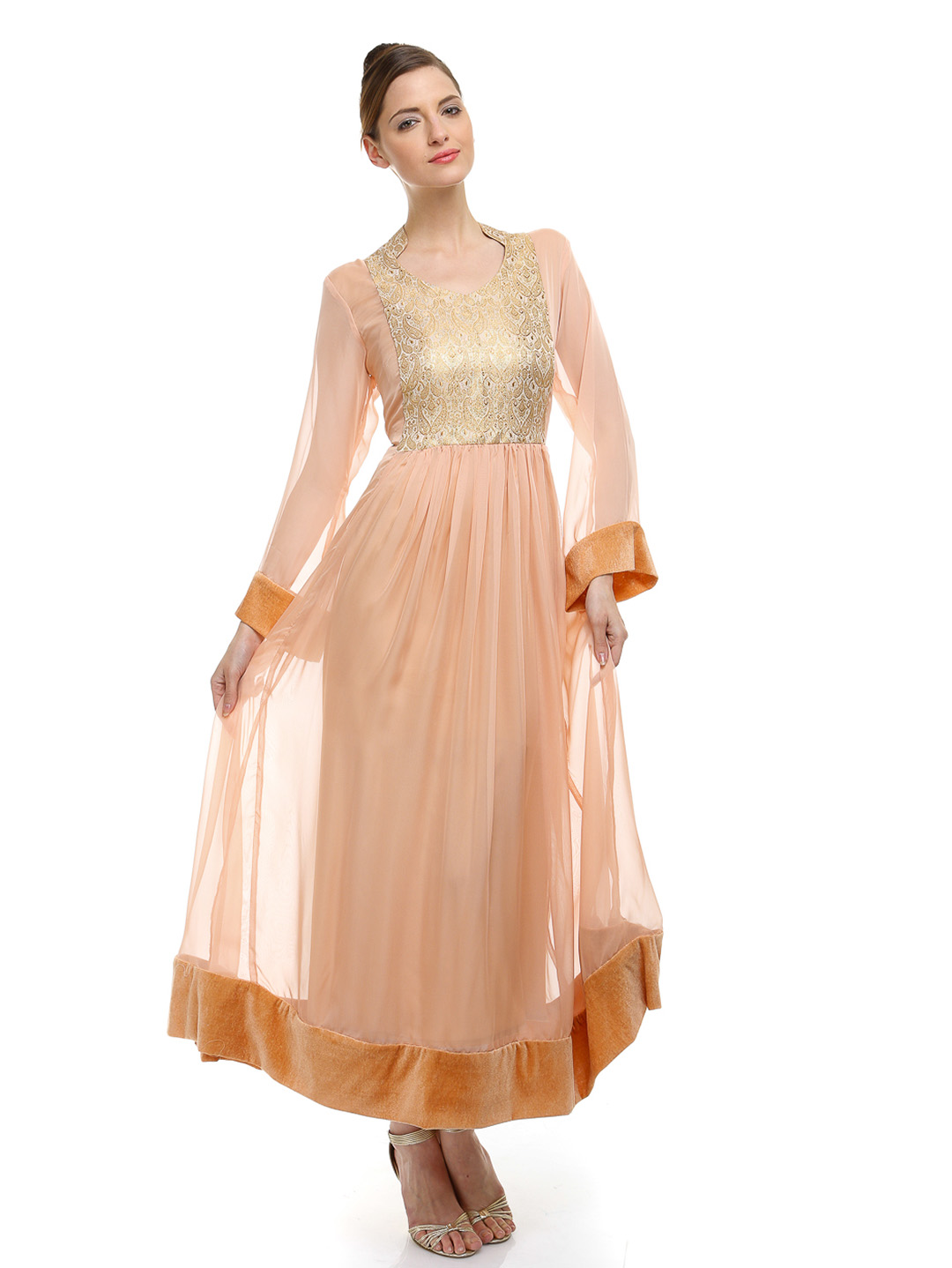 Arzu Gul Long Ethnic Frock Dresses 2013 - Clothing9Store ...