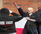 EDL Nazi Salutes - View Gallery