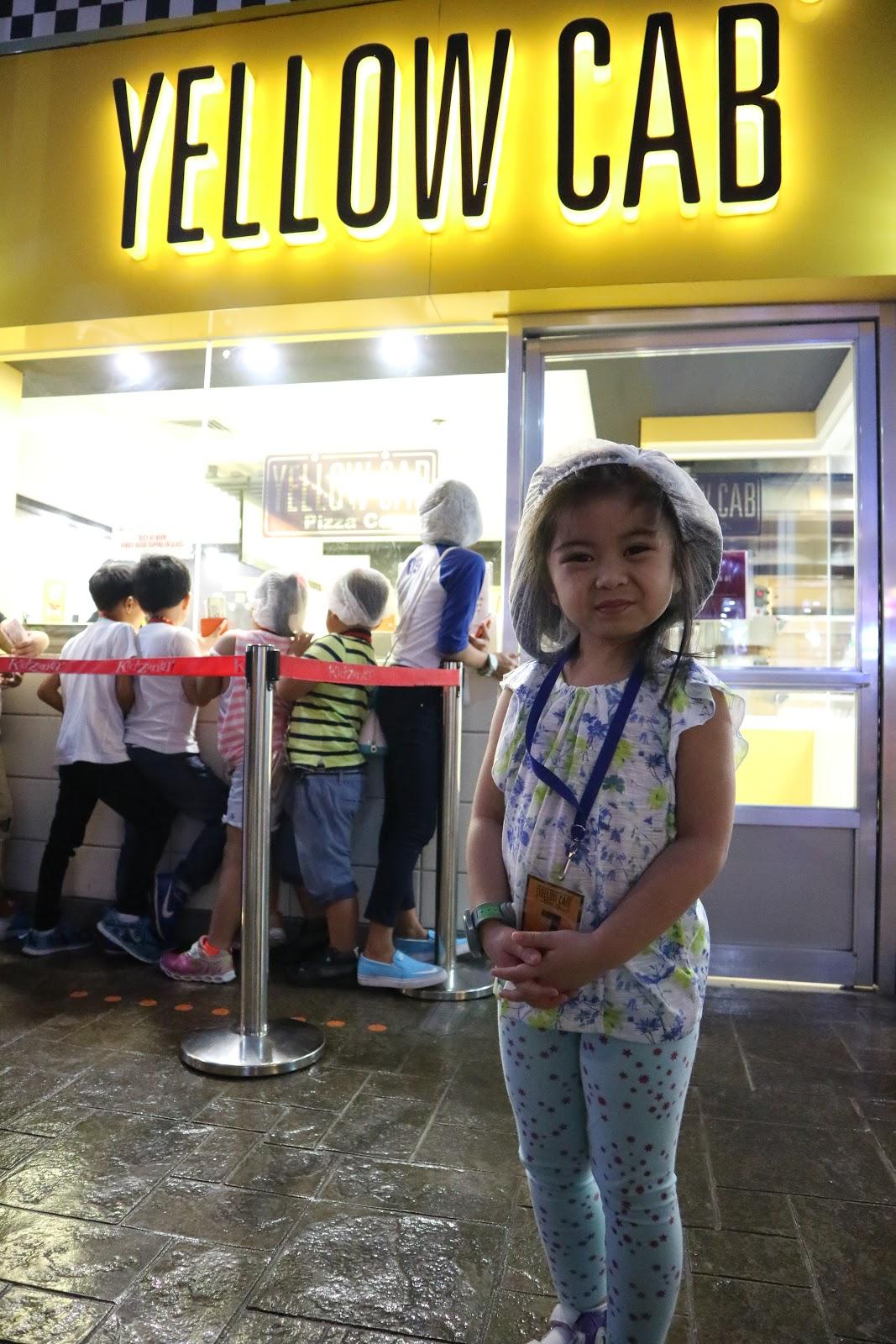 Yellow Cab in KidZania Manila