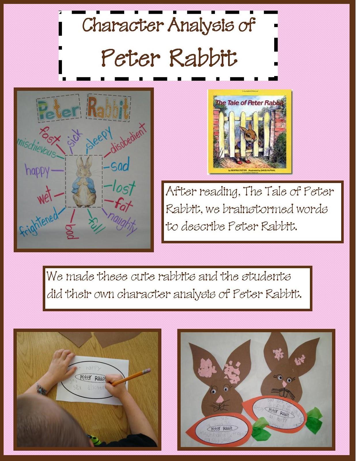 Golden Gang Kindergarten The Tale Of Peter Rabbit