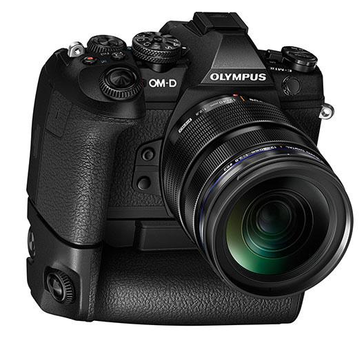 Olympus OM-D E-M1 Mark II с батарейной ручкой