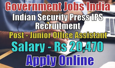 Indian Security Press Nashik Recruitment 2018