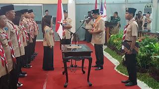 Walikota Jabat Ketua Majelis Pembimbing Pramuka