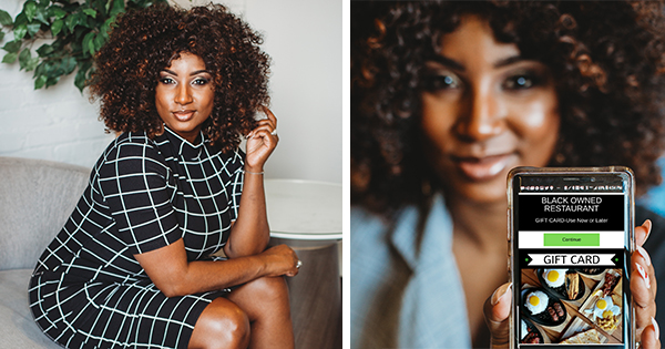 Danielle McGee, founder of the Black Business Boom app