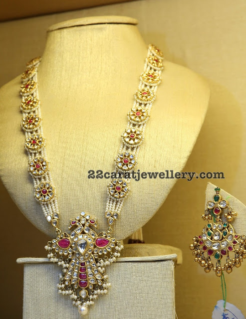 Handmade Kundan Beads Long Chains