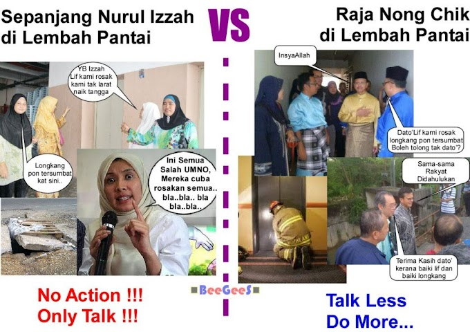 We Walk The Talk @RajaNongChik #1Malaysia #TolakPR #PRU13 #BetterNation