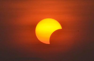 Gerhana matahari sebagian