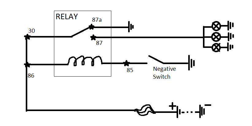 displaying 15gt images for relay diagram 87a