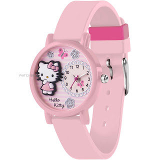 Gambar Jam Tangan Hello Kitty 4