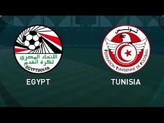 مشاهدة ماتش مصر و تونس مباشر اليوم يلا كورة تصفيات كأس أمم إفريقيا