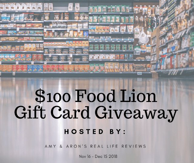 $100 Food Lion Gift Card Giveaway! Ends 12/15