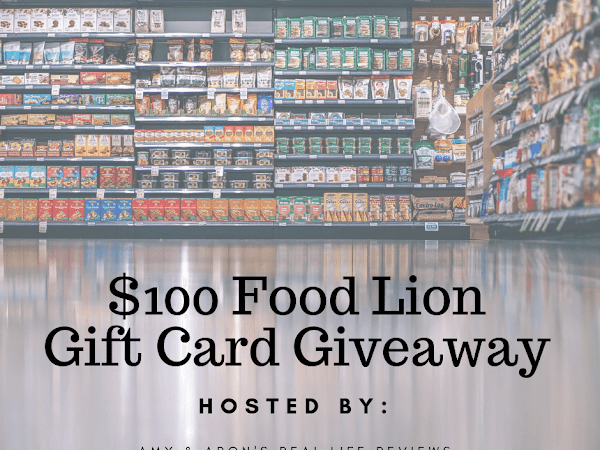 Blogger Opp   $100 Food Lion Gift Card Giveaway