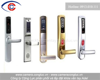 Một số mẫu khóa cửa Adel do Cộng Lực cung cấp và lắp đặt trên thị trường.