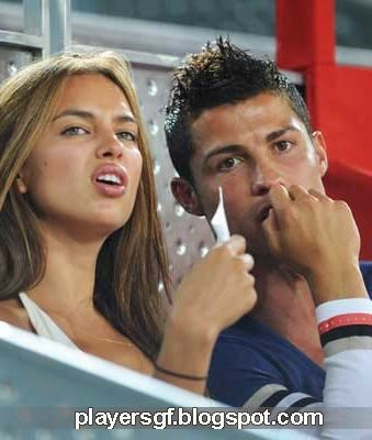 Cristiano Ronaldo and his Girlfriend Irina Shayk