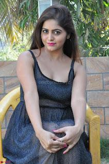 Pragya Nayan New Fresh Telugu Actress Stunning Transparent Black Deep neck Dress ~  Exclusive Galleries 052.jpg