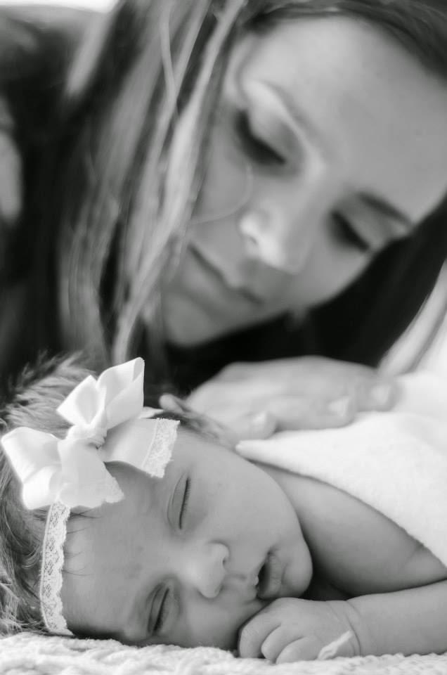 ensaio new born mae e filha