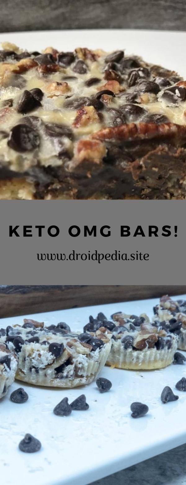 Keto OMG Bars! #keto #cookies #snack