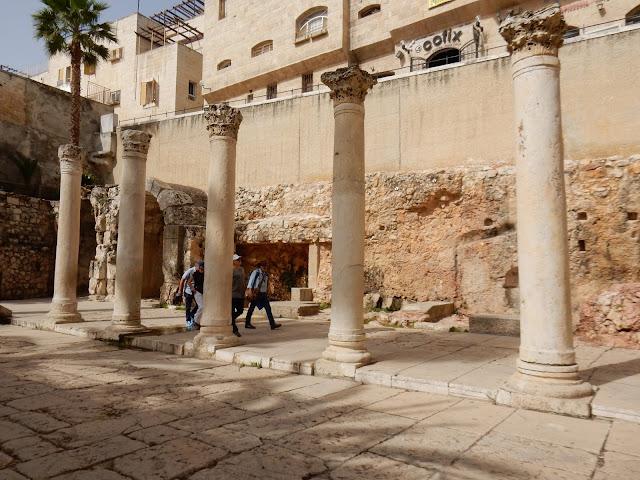 Jérusalem, Israel, elisaorigami, cardo