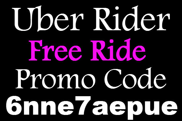 Uber Promo Code 2017, Uber Rider Coupon April, May, June, July, August