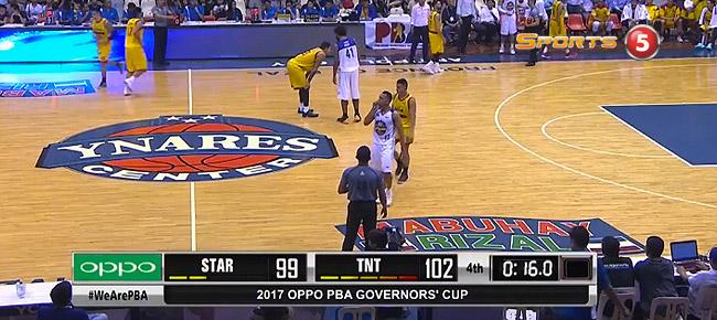 TNT def. Star, 104-99 (REPLAY VIDEO) September 17
