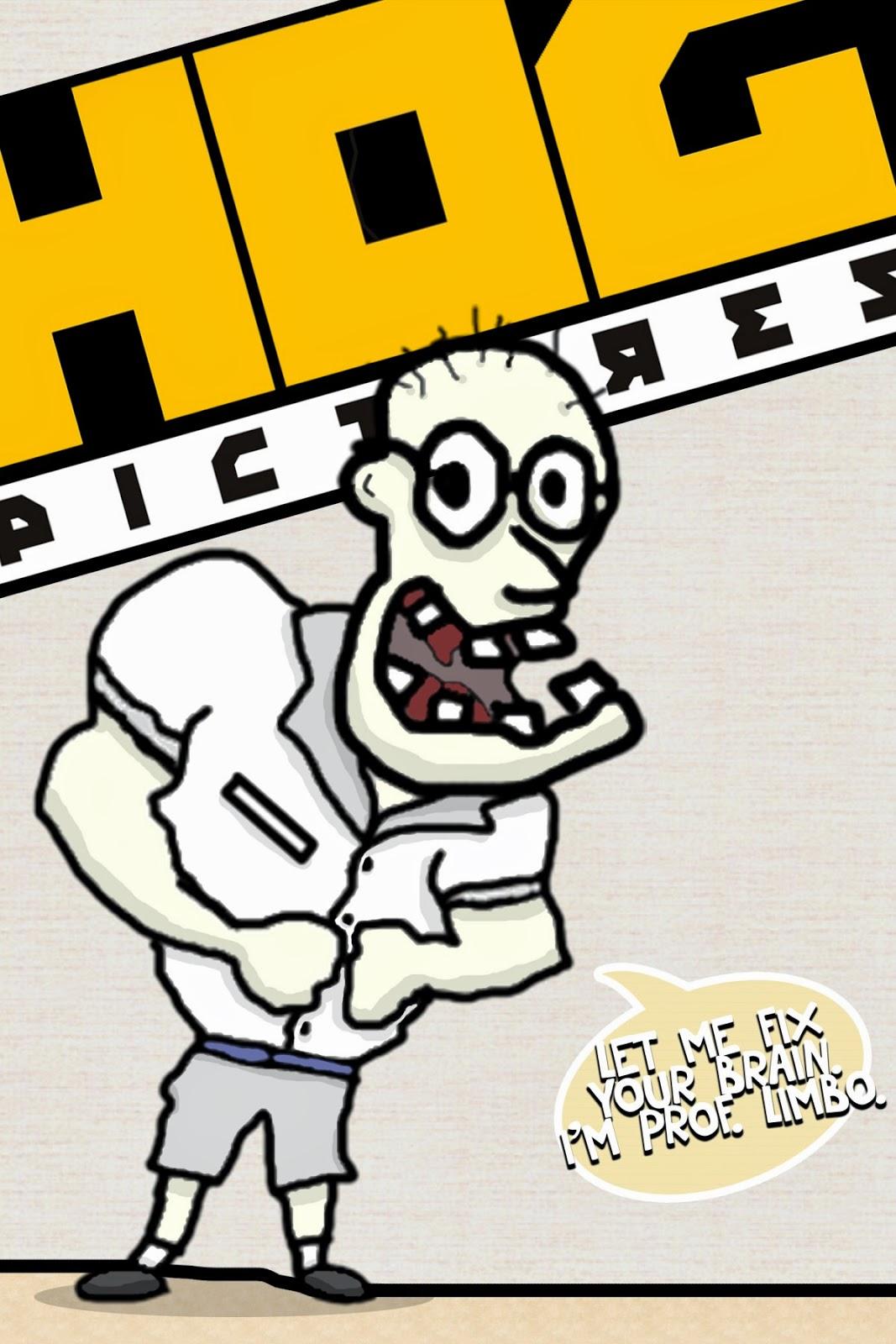 Karakter Animasi 2D | Professor Limbo - Hog Pictures