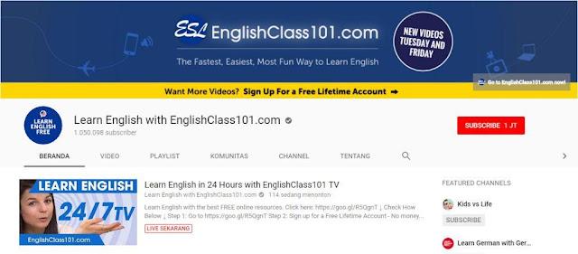 belajar bahasa ingggris online