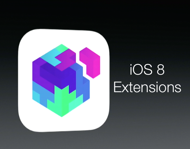 IOS8 extensions