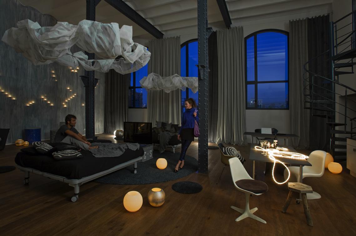 Loft industriale a barcellona arc art blog by daniele drigo for Cuanto cuesta pintar un piso de 100 metros