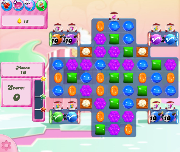 Candy Crush Saga level 2807