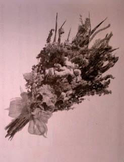 Kreasi Bunga Kering Dari Bahan Alami