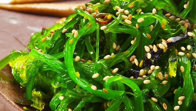 algas comestibles yodo dieta vegetariana ensaladas