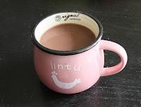 Beker warme chocolademelk