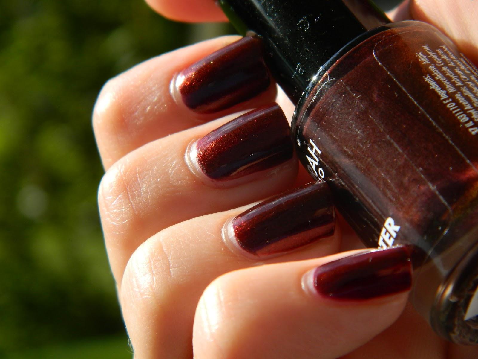 Mostly nail polish: Deborah - Burlesque Red