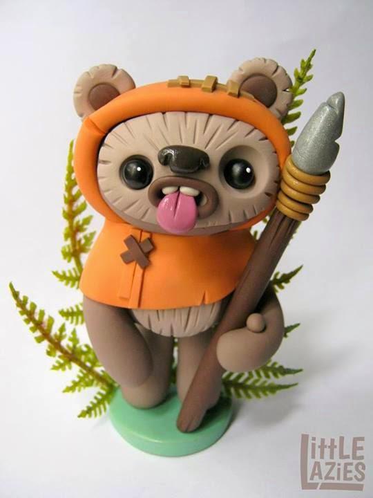 Furry Brown WereWolf Costume Mask Chewbacca Ewok Bear Forest Creature Teen wolf