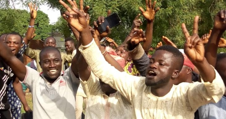 Image result for PHOTOS: Jubilation in Ede as tribunal declares Adeleke winner of Osun gov election