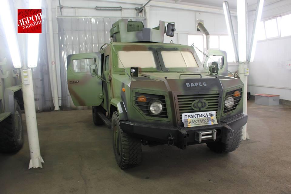 Бронеавтомобіль «Барс-6» версія 2015 року