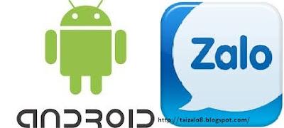 Tải Zalo cho điện thoại Android mới nhất
