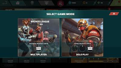 Modos de juegos Modern combat versus