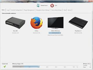 Programma Universal Media Server
