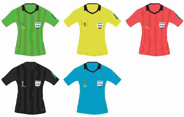 b13799a53f0 PES 2018 World Cup 2018 Referee Kits-Pack. CREDITS  Tekask1903
